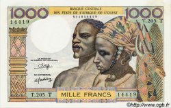 1000 Francs type 1960 TOGO  1980 P.803To NEUF