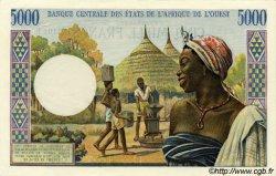 5000 Francs type 1960 MAURITANIE  1969 P.504Ed