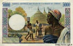 5000 Francs type 1960 COTE D
