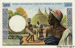 5000 Francs type 1960 NIGER  1977 P.604Hm pr.NEUF