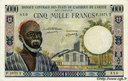 5000 Francs type 1960 TOGO  1977 P.804Tm SPL+