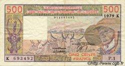 500 Francs type 1977 SÉNÉGAL  1979 P.705Ka TTB