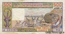 500 Francs type 1977 COTE D