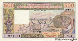 500 Francs type 1977 SÉNÉGAL  1980 P.705Kb SPL