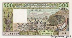 500 Francs type 1980 MALI  1981 P.405Db pr.NEUF