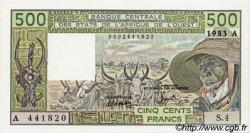 500 Francs type 1980 COTE D