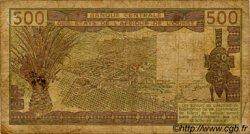 500 Francs type 1980 ÉTATS DE L