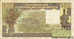 500 Francs type 1980 BÉNIN  1986 P.206Bj TB