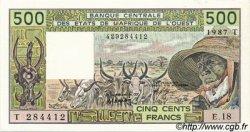 500 Francs type 1980 TOGO  1987 P.806Tj pr.NEUF