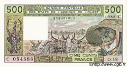 500 Francs type 1980 BURKINA FASO  1988 P.306Ca pr.NEUF