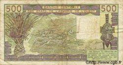 500 Francs type 1980 SÉNÉGAL  1989 P.706Kk TB+