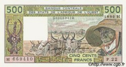500 Francs type 1980 NIGER  1990 P.606Hl SUP