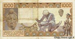1000 Francs type 1977 SÉNÉGAL  1985 P.707Kf TTB
