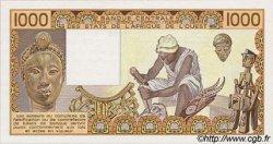 1000 Francs type 1977 BÉNIN  1986 P.207Bf pr.NEUF