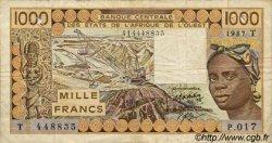 1000 Francs ÉTATS DE L