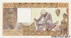 1000 Francs type 1977 SÉNÉGAL  1988 P.707Ka pr.NEUF