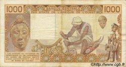1000 Francs type 1977 NIGER  1990 P.607Hj TB+