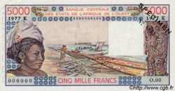 5000 Francs type 1976 SÉNÉGAL  1977 P.708Kds pr.NEUF