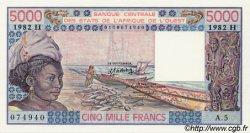 5000 Francs type 1976 NIGER  1982 P.608Hg NEUF
