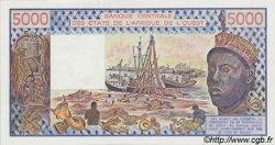 5000 Francs type 1976 SÉNÉGAL  1982 P.708Kf NEUF