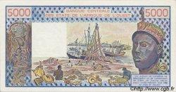5000 Francs type 1976 ÉTATS DE L