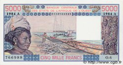 5000 Francs type 1976 COTE D