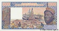 5000 Francs type 1976 TOGO  1987 P.808Ti SPL+