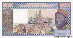 5000 Francs type 1976 BÉNIN  1989 P.208Bd NEUF