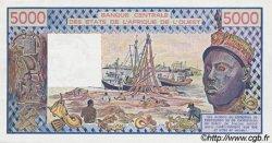 5000 Francs type 1976 SÉNÉGAL  1989 P.708Ke pr.NEUF