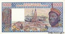 5000 Francs type 1976 BURKINA FASO  1992 P.308Cp SUP