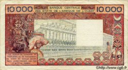 10000 Francs type 1975 TOGO  1980 P.809Tc TB+