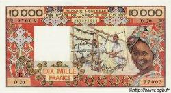 10000 Francs type 1975 SÉNÉGAL  1983 P.709Kf NEUF