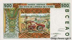 500 Francs type 1991 BÉNIN  1991 P.210Ba NEUF