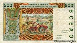 500 Francs type 1991 COTE D