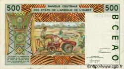 500 Francs type 1991 BURKINA FASO  1992 P.310Cb TTB+