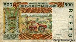 500 Francs type 1991 SÉNÉGAL  1994 P.710Kd TB
