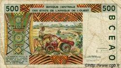 500 Francs type 1991 TOGO  1994 P.810Td TB