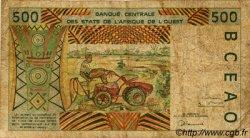 500 Francs type 1991 BURKINA FASO  1996 P.310Cf B+