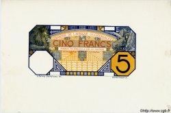 5 Francs GRAND-BASSAM Epreuve AFRIQUE OCCIDENTALE FRANÇAISE (1895-1958)  1904 P.05D SPL