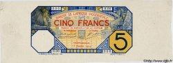 5 Francs GRAND-BASSAM Epreuve AFRIQUE OCCIDENTALE FRANÇAISE (1895-1958)  1904 P.(05D) SPL