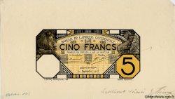 5 Francs GRAND-BASSAM Epreuve AFRIQUE OCCIDENTALE FRANÇAISE (1895-1958)  1903 P.(05D) SPL