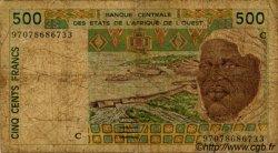 500 Francs type 1991 BURKINA FASO  1997 P.310Cg B