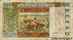 500 Francs type 1991 TOGO  1997 P.810Tg B