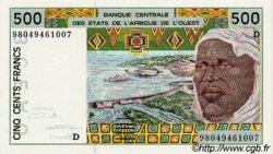 500 Francs type 1991 MALI  1998 P.410Dh pr.NEUF
