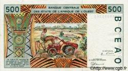 500 Francs type 1991 ÉTATS DE L