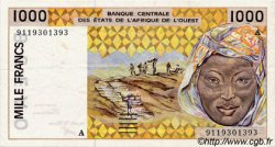 1000 Francs type 1991 COTE D