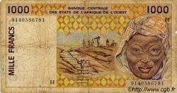 1000 Francs type 1991 NIGER  1991 P.611Ha B