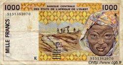 1000 Francs type 1991 SÉNÉGAL  1991 P.711Ka TB+