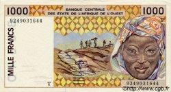 1000 Francs type 1991 TOGO  1992 P.811Tb TTB