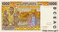 1000 Francs type 1991 TOGO  1992 P.811Tb NEUF